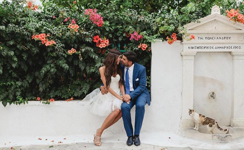 Свадьа в греческом стиле