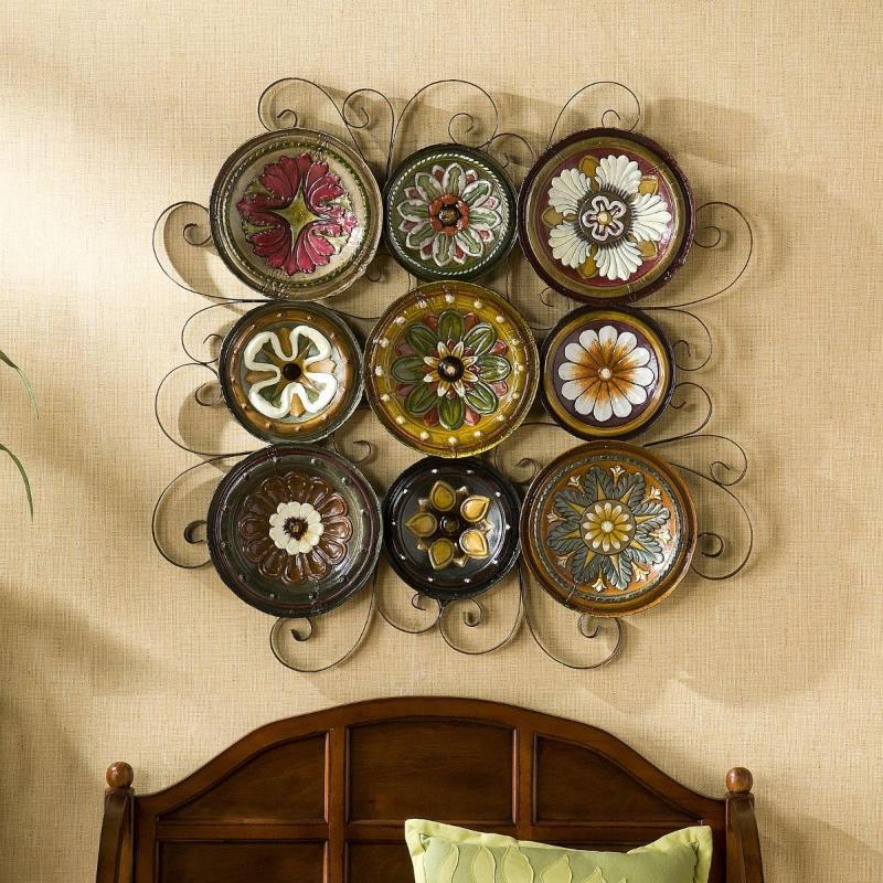 Сделать своими руками тарелку на стену
