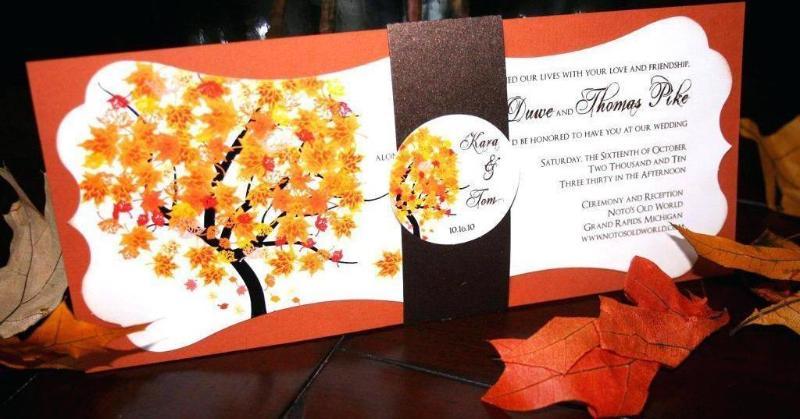 Осеннее приглашение