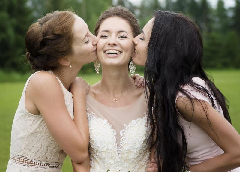 мостик подружка вышла замуж картинки дети