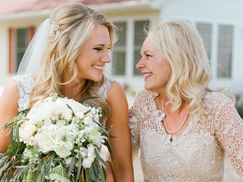 Слова благодарности маме от невесты