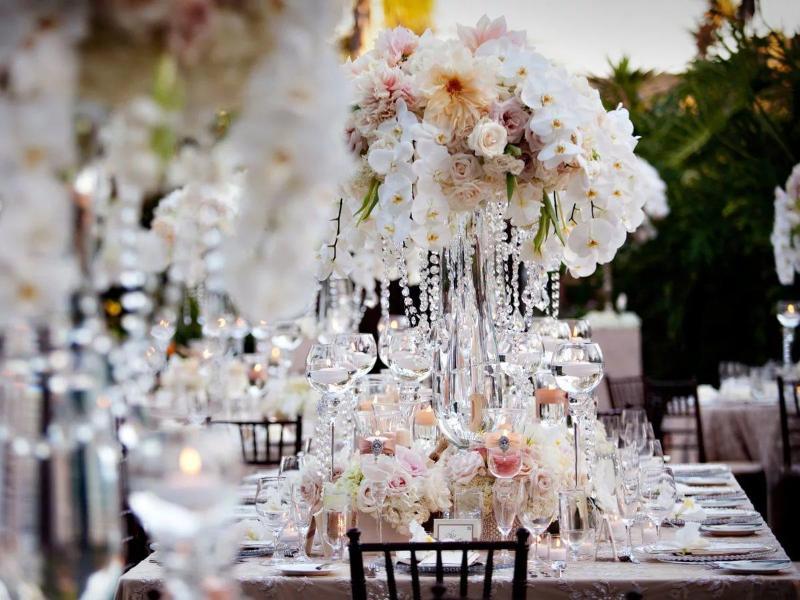 Оформление хрустальной свадьбы