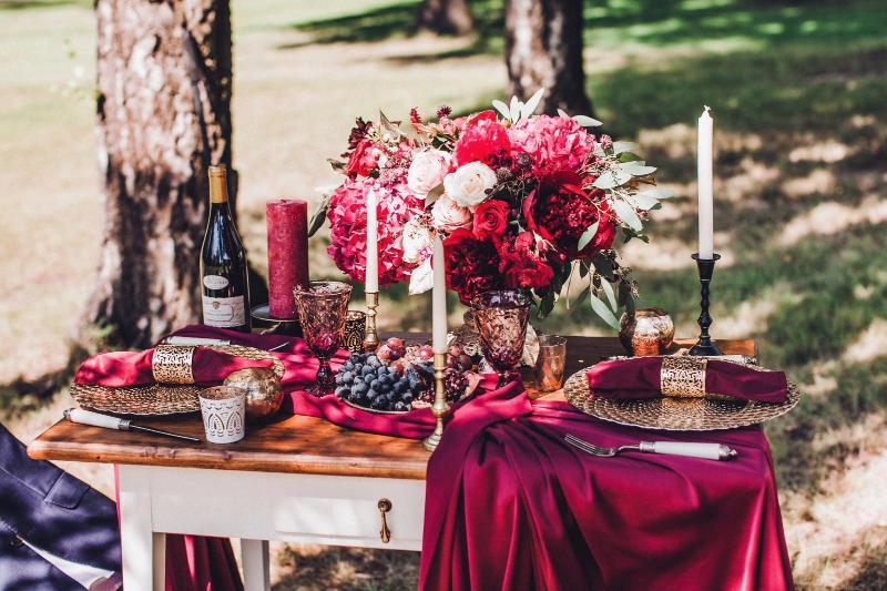 Гранотовая свадьба оформление