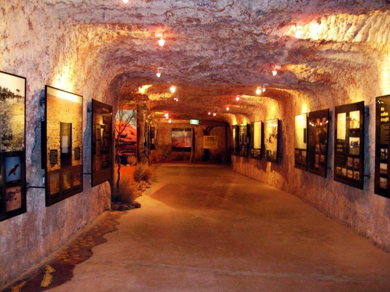 Опаловая шахта-музей