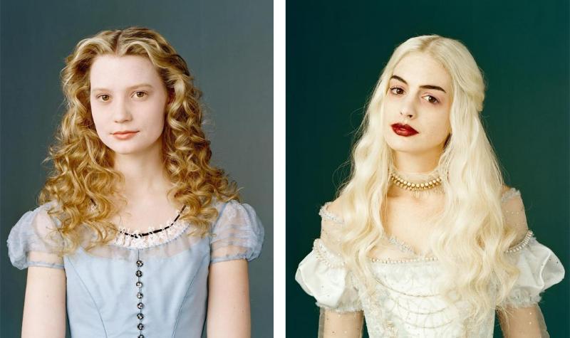 Прическа в стиле Алиса в стране чудес