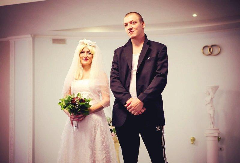 Свадьба в стиле 90-х