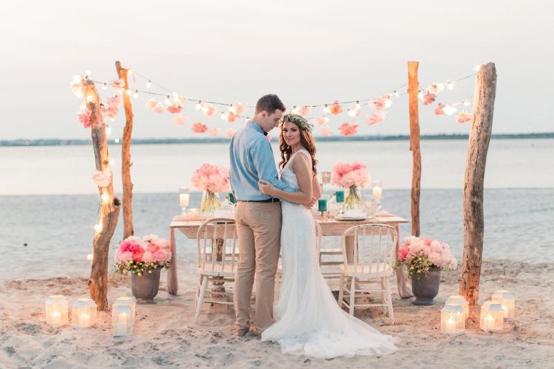 Свадьба в пляжном стиле