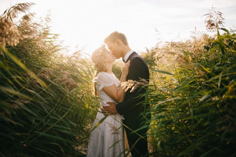 Скромная свадьба