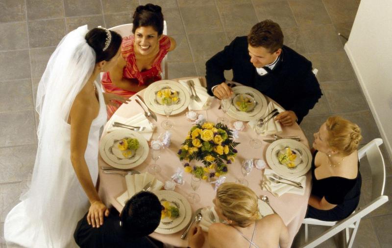 Свадьба небольшой компанией